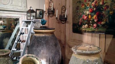 Illustration Boutique Antiquités Décoration Saint Roch